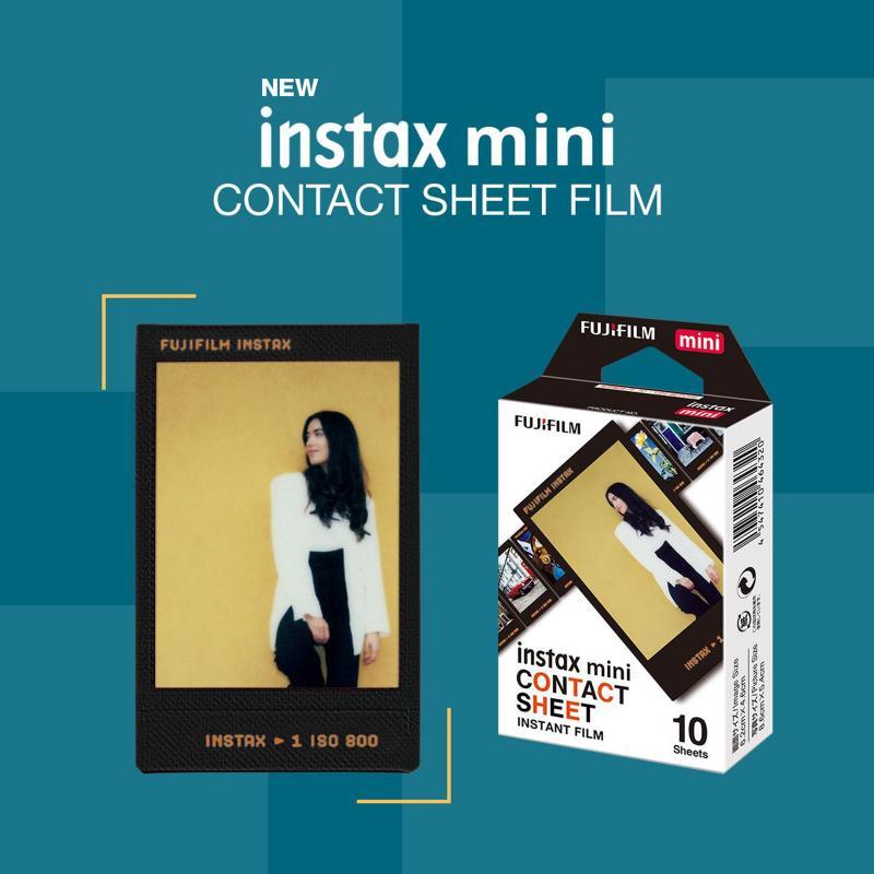 Instax Mini film Contact Sheet