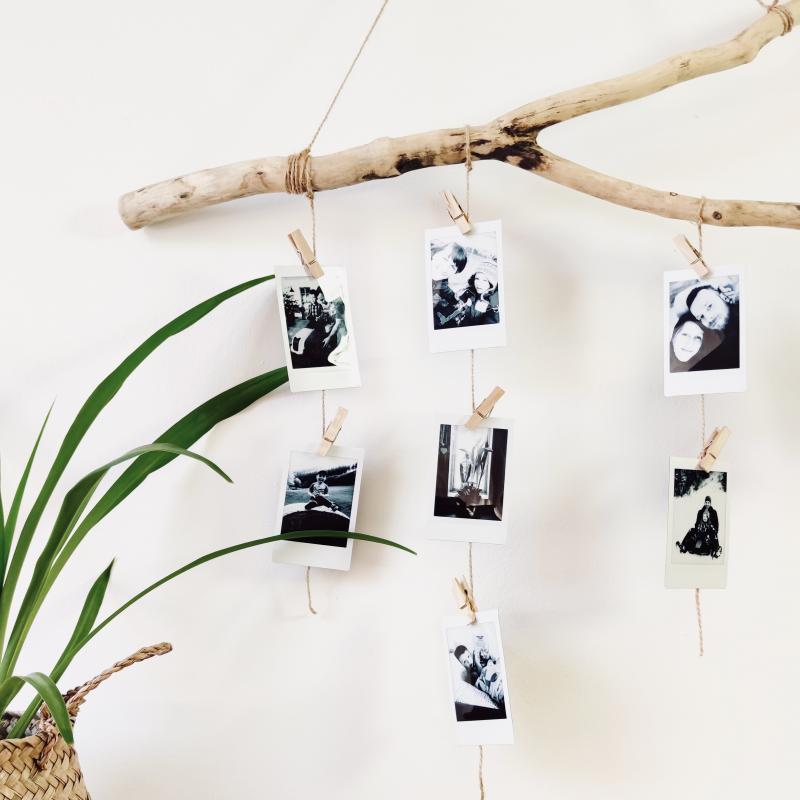 Tvoříme s Instaxem: Přírodní dekorace plná vzpomínek