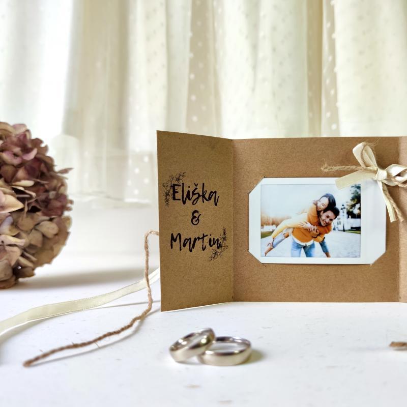 Tvoříme s Instaxem: Svatební oznámení