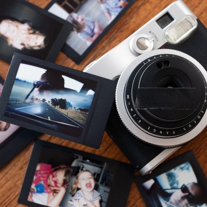Dvojitá expozice u fotoaparátů Instax