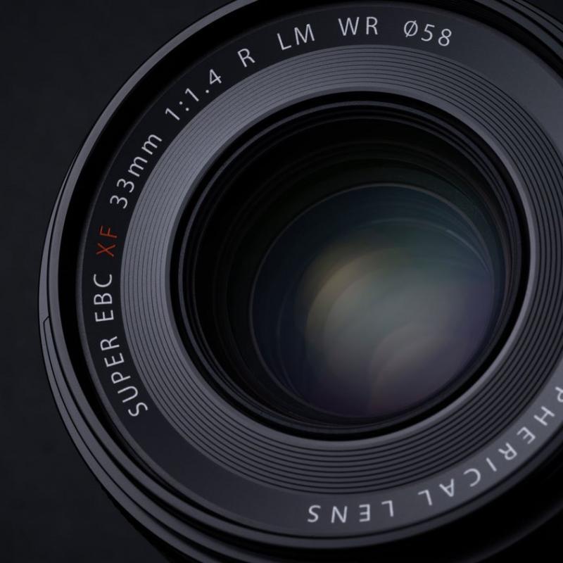 Nový objektiv FUJINON Lens XF 33mm F/1.4 R LM WR
