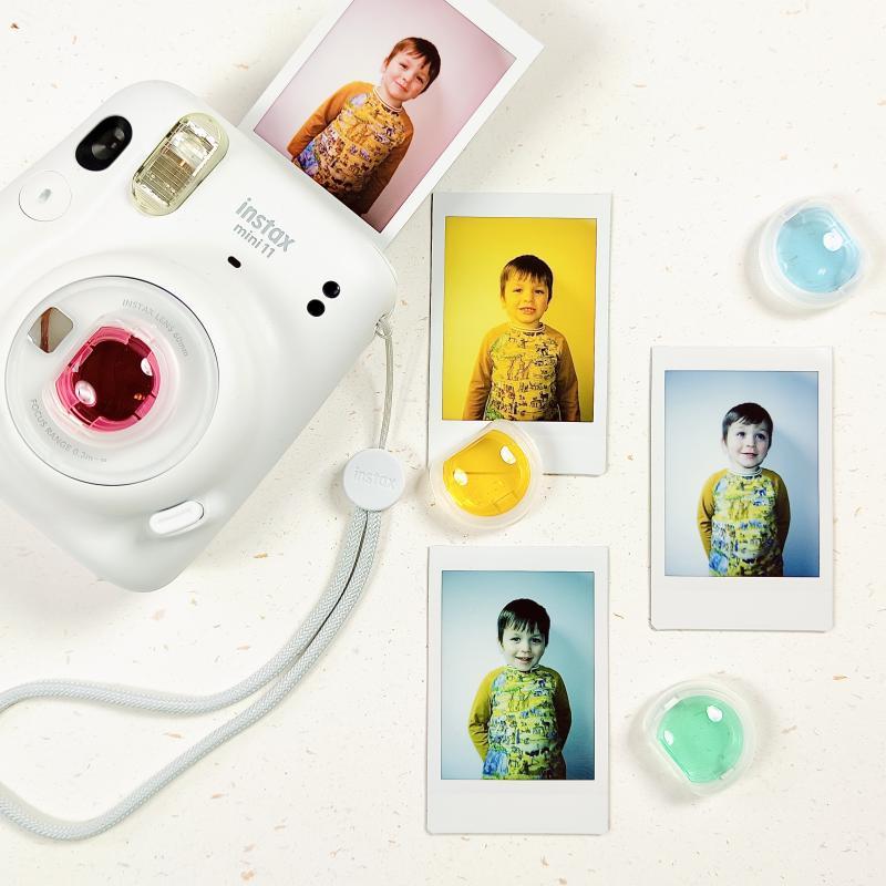 Objevte kouzlo barevných filtrů pro fotoaparáty Instax